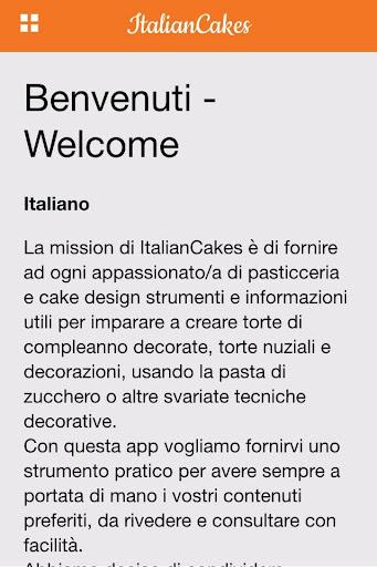 Italian pastry and cake design