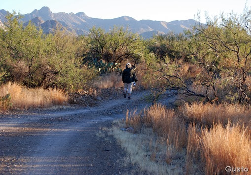 kathie hiking sycamore cyn 11-15-2008