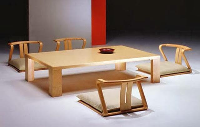 meja makan minimalis unik