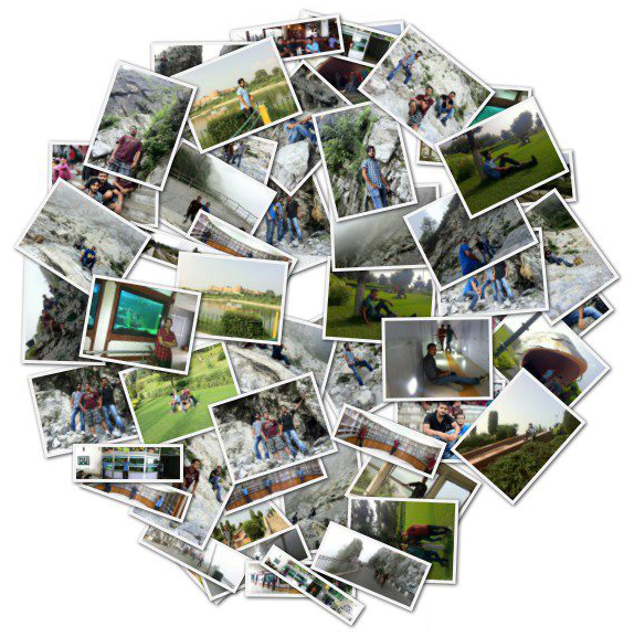 Loupe collage creator
