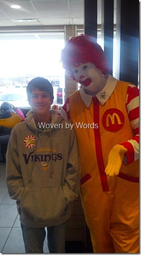 Ronald and Buddy