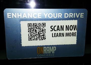 QR Code on Rental Vehicles