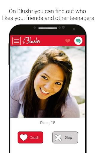 Blushr Secret Teen Crush Bae