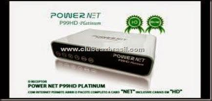 NOVA ATUALIZAÇÃO MEGABOX POWERNET P99 HD