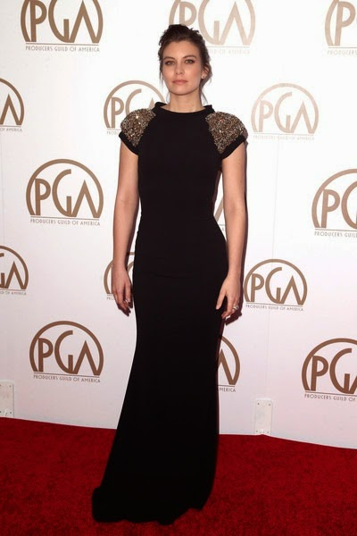 Lauren Cohan attends the 26th Annual Producers Guild Of America Awards