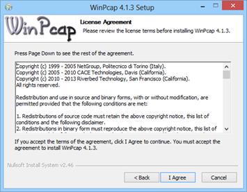 gratuitement winpcap 4.1.2