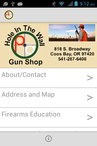 Hole in The Wall Gun Shop- screenshot