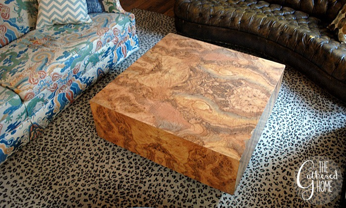 Burl Coffee Table - Secrets Of A Craigslist Addict: The 2nd Rule Of Craigslist - The