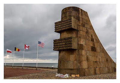 Westliche Landungsstrände - Denkmal Omaha Beach