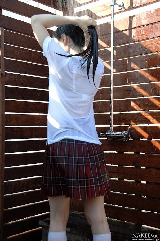 Naked-Art 641 Photo No.00015 市ノ瀬明日香 Wet Asuka 高画質フォトReal Street Angels