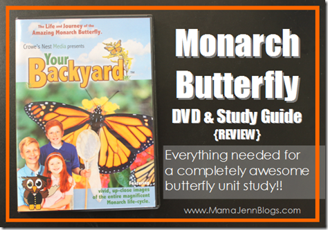 Monarch Butterfly DVD