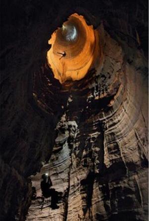 caverna poço
