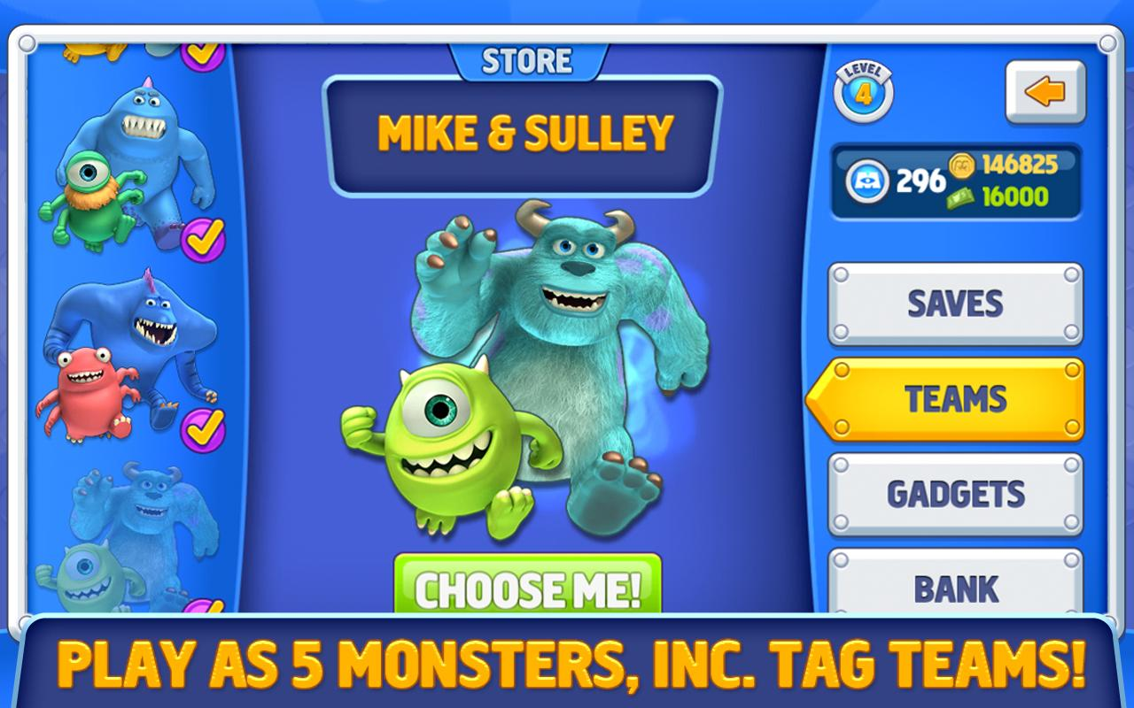 Monsters, Inc. Run - screenshot