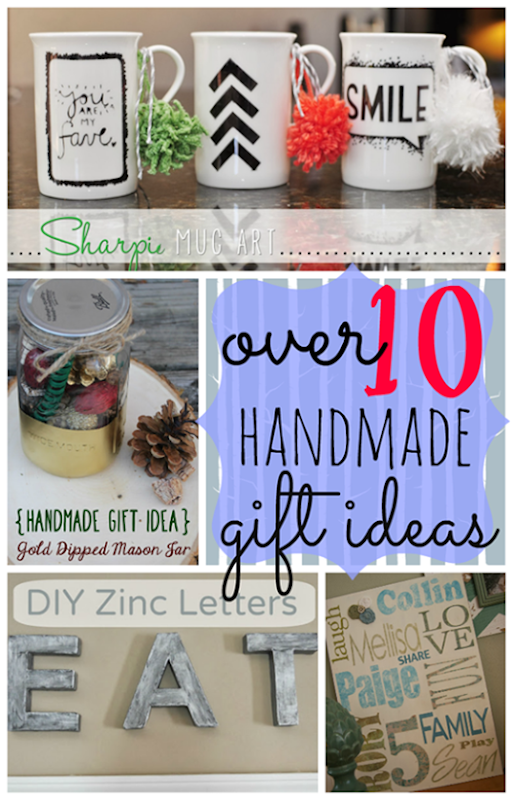 Over 10 Handmade Gift Ideas at GingerSnapCrafts.com #diy #ChristmasGifts #linkparty #features[7]