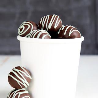 Thin Mint-Style Gluten Free Cookie Dough Truffles