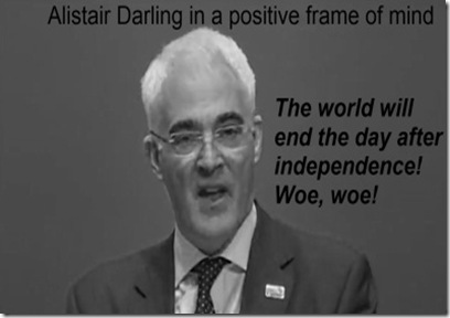 Alistair Darling End is nigh