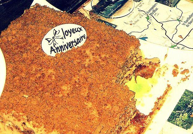 French birthday cake 2