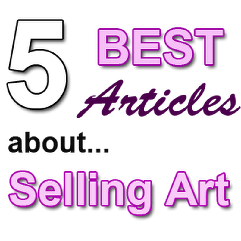 5 of our BEST Articles about Promoting and Selling Art Online