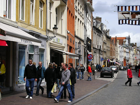 Imagini Belgia: strazi in Brugge