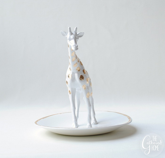 anthropologie knockoff giraffe trinket dish4