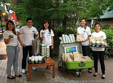 Holiday Inn Express Singapore Orchard Hotel opening celebration Grab and Go breakfast set giveaway Paragon, Knightsbridge, Ngee Ann City, ION Orchard, medical hub Mount Elizabeth Hospital Medical Centre Orchard Somerset MRT stations