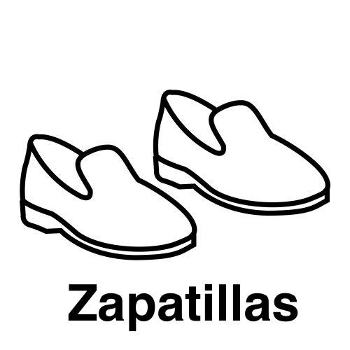 Colorear Dibujos De Zapatillas