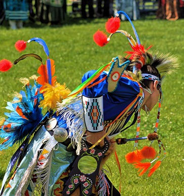 Lenape Powwow Fancy Dancer3