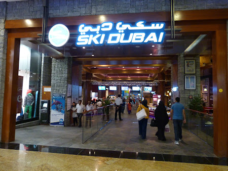 Obiective turistice Dubai: Ski Dubai in Mall of the Emirates