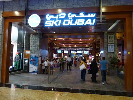 Obiective turistice Dubai: Ski Dubai in Mall of the Emirates