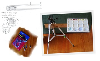 Small Folding Stool For The Kitchen