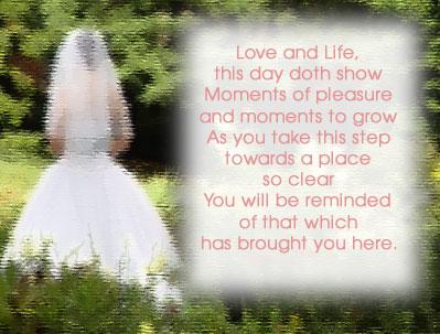 Wedding Love Poetry Wedding Ideas