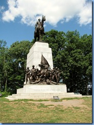 2560 Pennsylvania - Gettysburg, PA - Gettysburg National Military Park Auto Tour - Stop 5 - Virginia Memorial