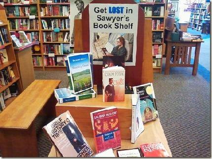 Акция в одном книжном магазине