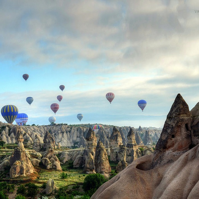 Hot Air Ballooning Over Cappadocia's Incredible Landscape
