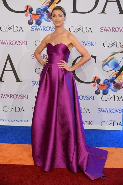 Bridget Moynahan Arrivals CFDA Fashion Awards