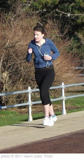 'woman jogging' photo (c) 2011, kevin ryder - license: http://creativecommons.org/licenses/by/2.0/
