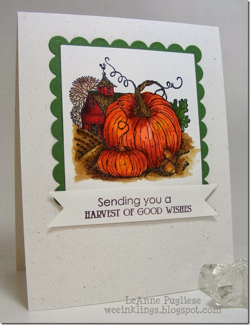 LeAnne Pugliese WeeInklings Harvest of Blessings Stampin Up