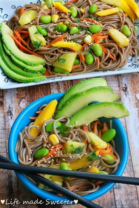 Soba Noodle Salad with Mango, Edamame, Pineapples & Avocado 3.jpg