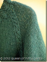 Lovely sweater details