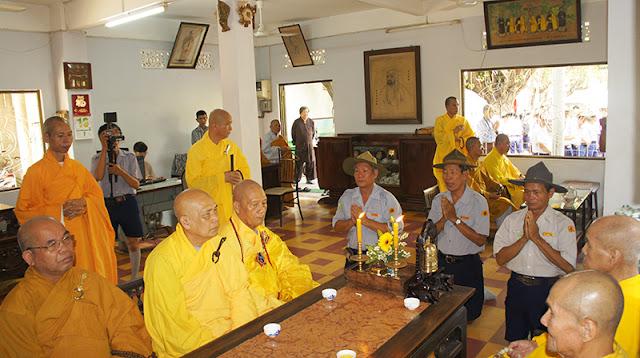 DSC06330 Lễ Hiệp kỵ   Lễ Huý Nhật Cư sĩ Sáng lập viên GĐPT Việt Nam   Tâm Minh Lê Đình Thám