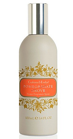 CRABTREE & EVELYN POMEGRANATE GROVE Home Fragrance Spray (100ml, $30)