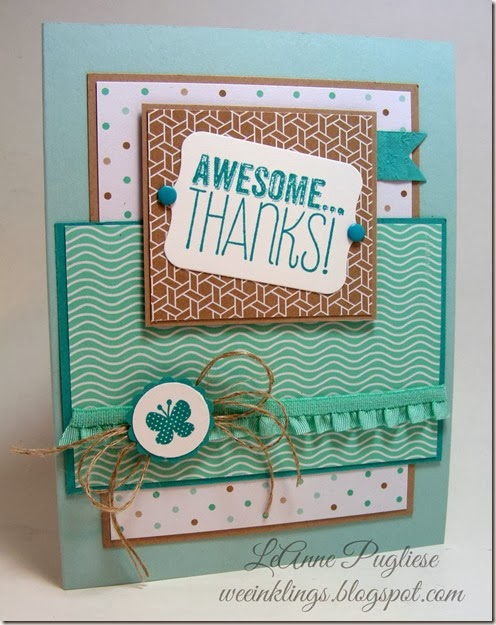 WeeInklings LeAnne Pugliese Mojo Monday 328 Yippee Skippee Stampin Up
