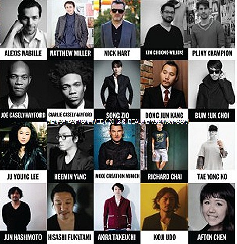 MEN'S FASHION WEEK SINGAPORE 2012 DANIEL HENNEY K-POP Se7en J-POP TANIHARA SHOSUK YUNA ITO DESIGNERS CELEBRITIES MARINA BAY SANDS SPENCER HART SONGZIO MCM Luxury GALA ALEXIS MABILLE MATTHEW MILLER KIM CHOONG-WILKINS SHOWS