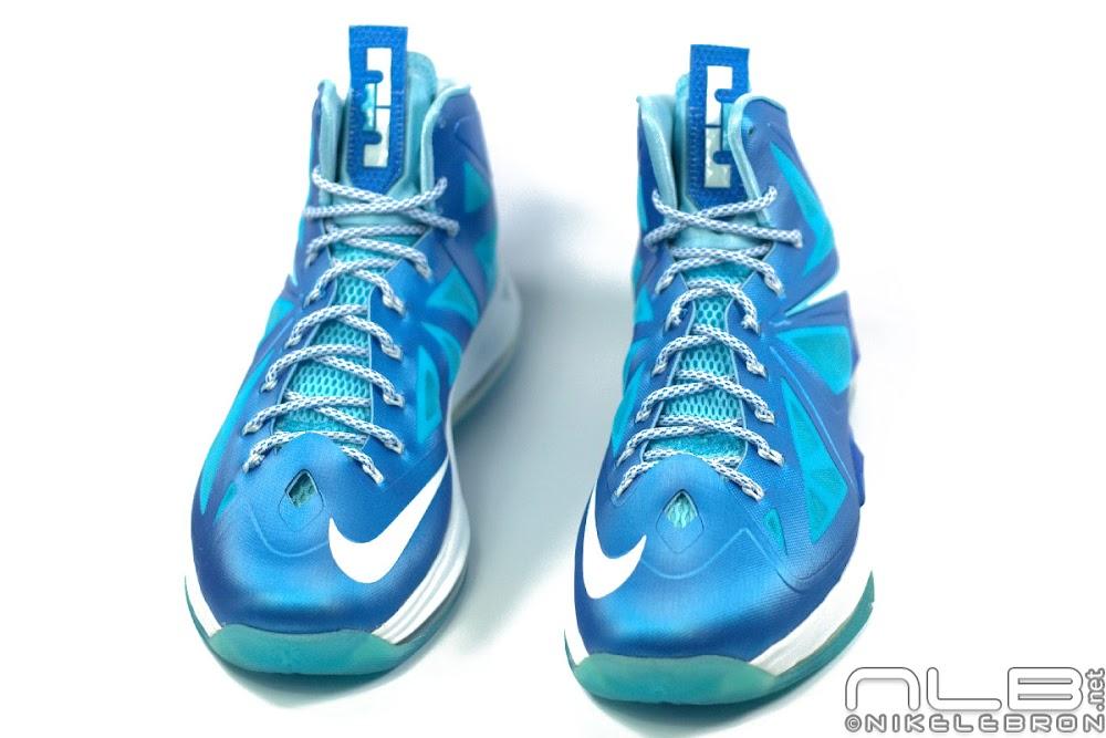 premium selection 06f7d 5dd79 ... The Showcase Nike LeBron X Sport Pack 8220Blue Diamond8221 ...