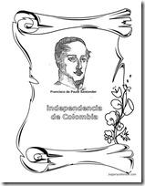 Dibujos Independencia De Colombia Para Colorear Colorear