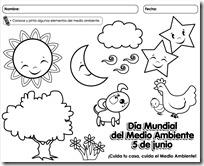 Dibujos Para Colorear Del Día Del Medio Ambiente Dibujos Colorear