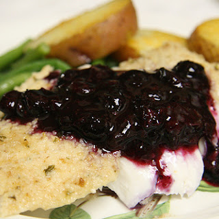 Baked Grouper with Kalamata Mustard