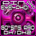 Pink DX/DX2 GO SMS Pro Theme logo