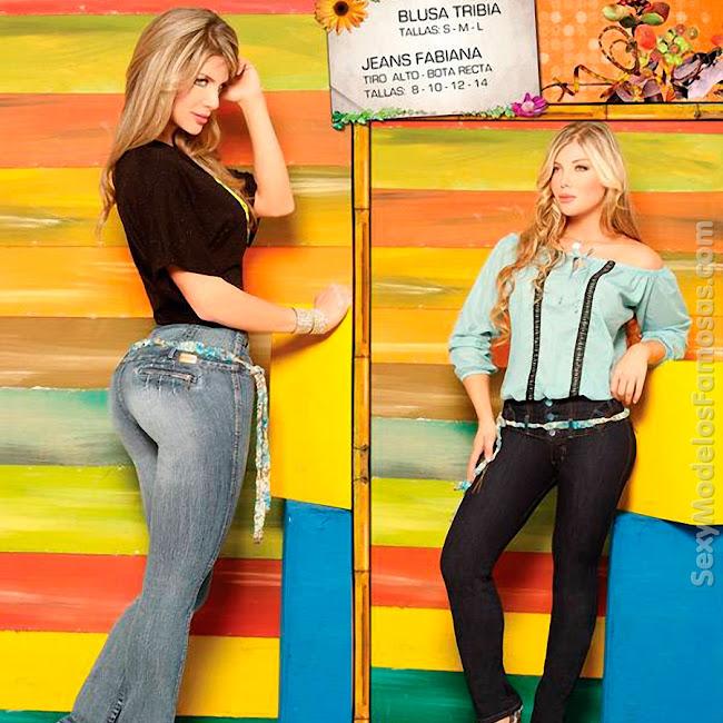 Angelica Jaramillo y Sofia Jaramillo Axxys Jeans Foto 22