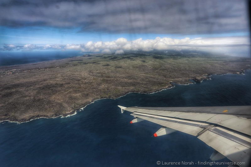 Galapagos Travel Guide san cristobal island galapagos from the air
